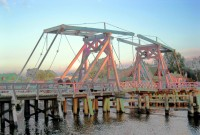Historische Klappbrücke Wieck
