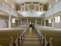 St.-Trinitatis-Kirche - Renovierter Innenraum (2002)