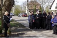 Kirchliche Würdenträger, Bürgermeister, Einwohner
