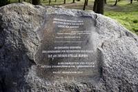 Inschrift des Gedenksteines Messenthin