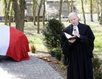 Der Stettiner evangelische Pfarrer sprach von der Erinnerung des Steines, des Kreuzes und der Fotographie