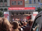 Steinmeier unterstützt Matschie im Landtagswahlkampf Thüringen