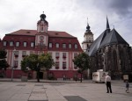Rathaus und Kirche Weienfels
