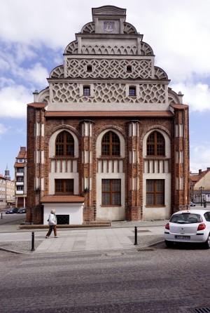 Cammin - Rathaus Westgiebel